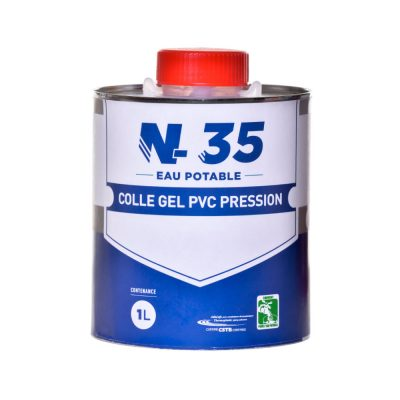Colle gel PVC N-35 eau potable