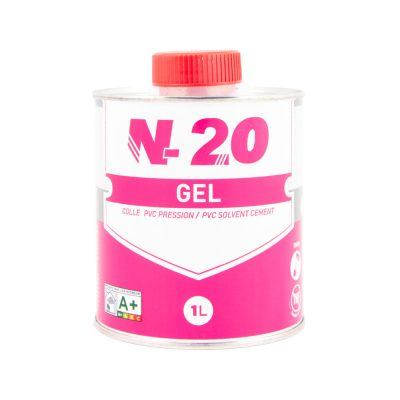 Colle PVC pression gel N-20
