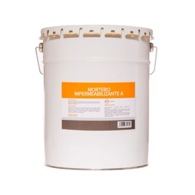 Quick setting waterproof mortar A